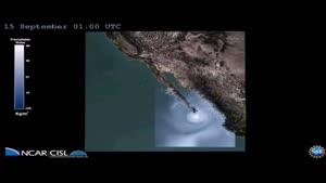 فیلم/مشاهده طوفان به شکل سه بعدی