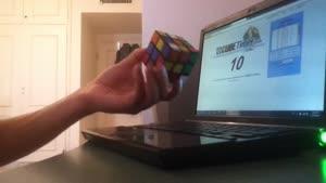 رکورد حل مکعب روبیک -برزین