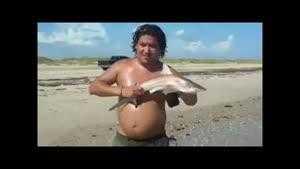 عاقبت بازی کردن با دم ماهی