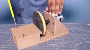آموزش ساخت سنگ فرز دستی در منزل
