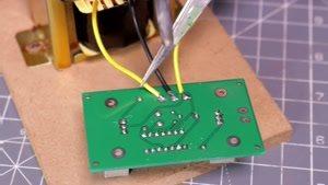 آموزش ساخت inverter تبدیل برق باطری به ۲۲۰ ولت شهری در منزل