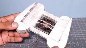 ساخت گیم پد برای موبایل با مقوا و فن خنک کننده در منزل