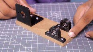 آموزش ساخت اره رومیزی برقی خانگی با لوازم ساده در منزل