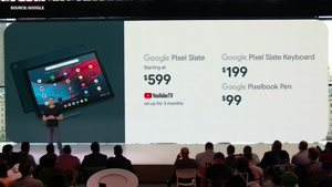 مراسم معرفی گوشی Google Pixel 3