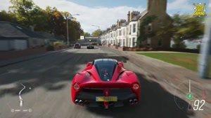 گیم پلی بازی Forza Horizon با ماشین Ferrari LaFerrari روی ایکس باکس