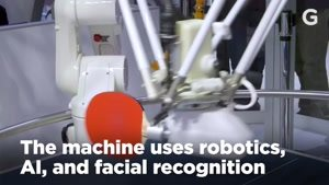 رونمایی و تست  اولین ربات پینگ پونگ باز در نمایشگاه CES۲۰۱۸