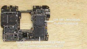 آموزش باز کردن و تشریح قطعات گوشی OnePlus ۶