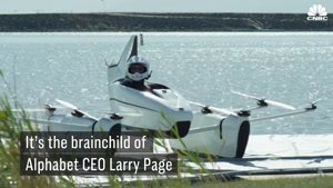 اولین ماشین پرنده لری پیج موسس گوگل