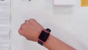 باز کردن جعبه ساعت هوشمند amazfit bip