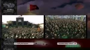 مراسم عزاداری در مسجد جامع یزد