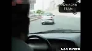 رانندگی خطرناک در خیابانهای تهران