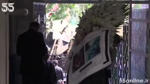 مراسم ترحیم محمدعلی سپانلو در تهران