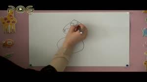آموزش نقاشی به کودکان - گاو