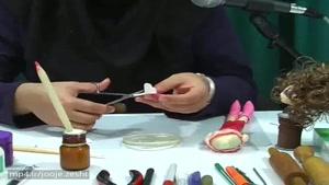 درس 54 : ساخت عروسک باربی - دست و کفش قسمت 2
