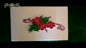 کاردستی کودک / گل کاغذی