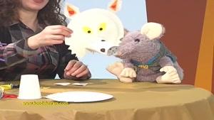 کاردستی حیوانات برای کودکان -گرگ