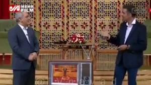 شوخی عادل فردوسی پور و مهران مدیری با ماجرای موزه لوور!