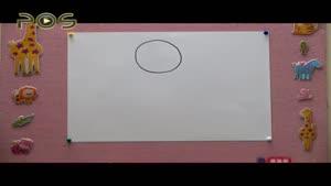 آموزش نقاشی برای کودکان - مرغ پر طلایی