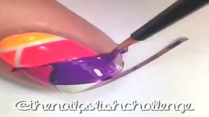 طراحی ناخن پازلی