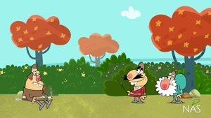 انیمیشن طنز دیرین دیرین - این قسمت : استتار