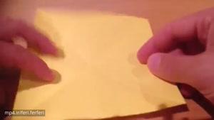ساخت الماس کاغذی به روش اوریگامی