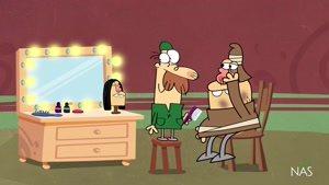 انیمیشن دیرین دیرین - این قسمت : آکتور