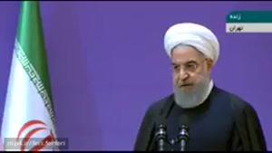 حسن روحانی: عدهای در خیابان اعتراض میکنند، یا خس و خاشاک است، یا گاو، یا گوساله یا آشغال است 🔹