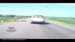 عاقبت کَل کَل کردن تو رانندگی.!!