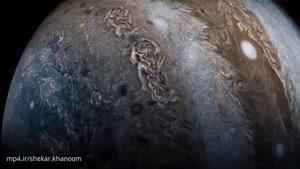 جدیدترین تصویر ناسا از سیاره مشتری