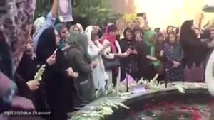 برگزاری مراسم یادبود مریم میرزاخانی در خانه ریاضیات تهران