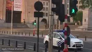 وضاع در نزدیکی ایستگاه متروی گرند در مرکز بروکسل که گزارشهایی از وقوع انفجار در آن دریافت شده است.