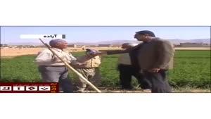 پیرمرد کشاورز عصبانی