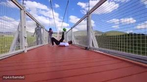 دروازه بانی لبه پل هشتاد متری