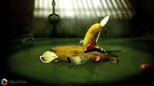کارتون خنده دار لاروا - ماهیگیری