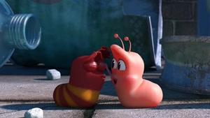 انیمیشن لاروا 2018 این قسمت پلک زیبا