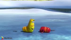 کارتون خنده دار لاروا - یخ
