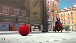 کارتون خرگوش های بازیگوش - توپ بازی