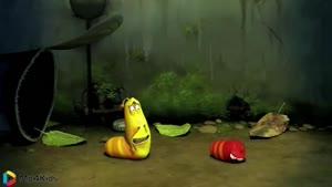 کارتون خنده دار لاروا - غرق شدن