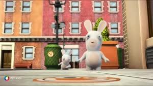 کارتون خرگوش های بازیگوش -استیکر