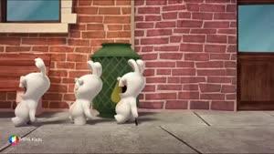 کارتون خرگوش های بازیگوش -گوشی موبایل