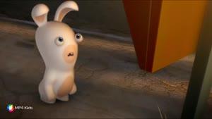 کارتون خرگوش های بازیگوش - فست فود