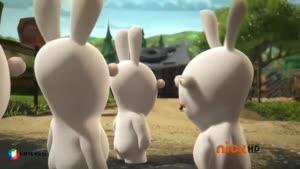کارتون خرگوش های بازیگوش - املت پارتی