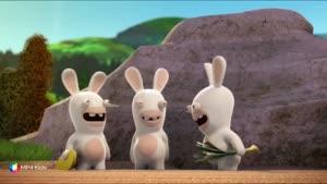 کارتون خرگوش های بازیگوش - کک سفید