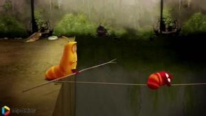 کارتون خنده دار لاروا - طناب