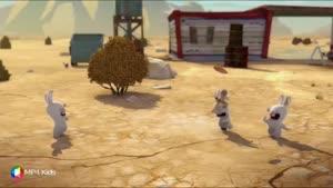کارتون خرگوش های بازیگوش - جاده