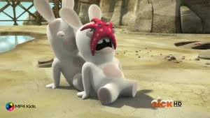 کارتون خرگوش های بازیگوش - هشت پا