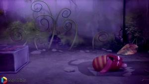 کارتون خنده دار لاروا - هالووین