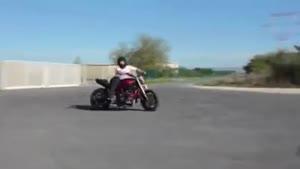 حرکت نمایشی موتور