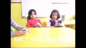 آموزش جور کردن روبیک به بچه ها