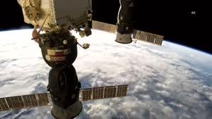 اروپا از دید ایستگاه فضایی بین المللی